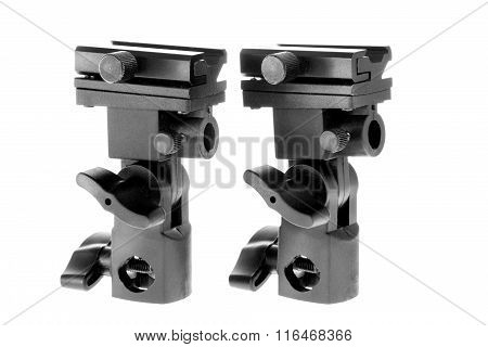 Image Isolated Object Flash And Umbrella Holder