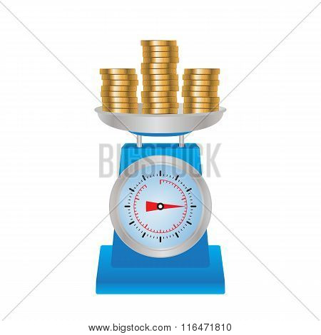 Coins On The Scales.