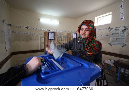 Iraq Election in Arbil