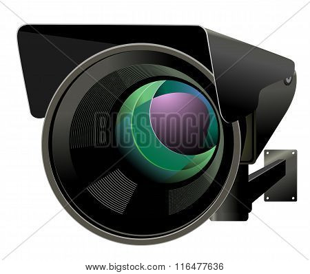 CCTV vector illustration