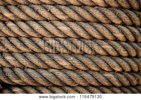 Perfect Yellow Rough Rope Texture