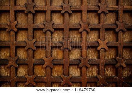 Metal Decorative Lattice Outside Texture