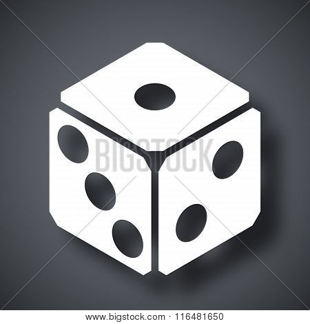 Dice Icon, Vector