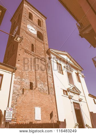 Santa Maria Church In San Mauro Vintage