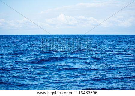 Open tropical sea