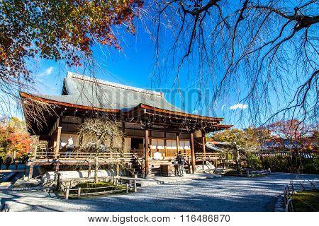 Tenryu-ji in Kyoto, Japan. Unesco World Heritage Site.