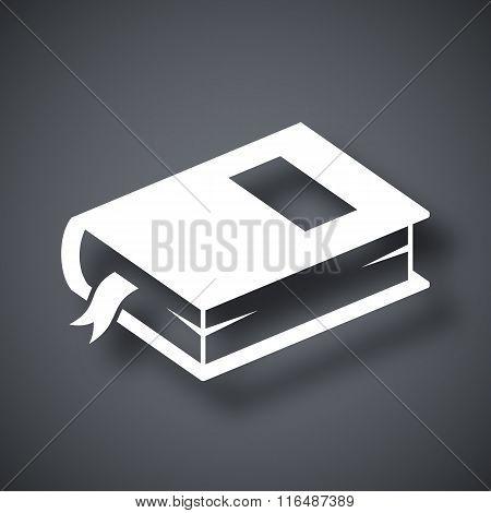 Vector Closed Book Icon