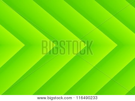 Abstract green ecology