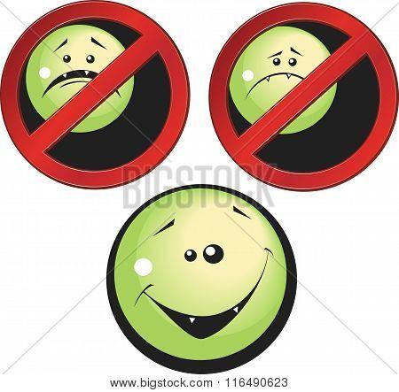 Set Of Smile Icons