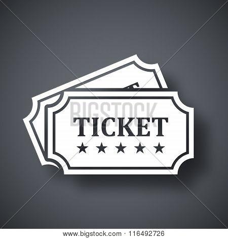 Vector Tickets Icon