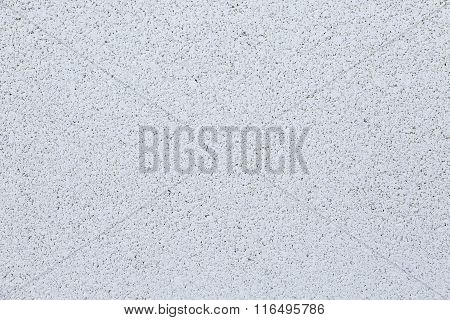 Background Textured. White And Porous Cement Wall