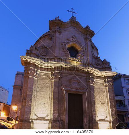 Chiesa dell'Addolorata in the center of Foggia. Foggia Apulia Italy.