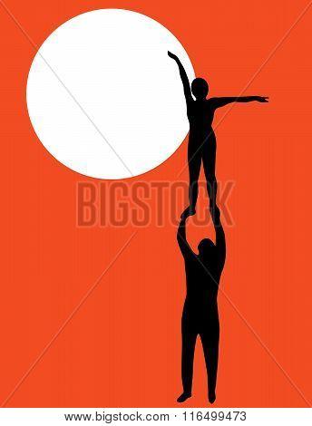 Acrobatics And Sun