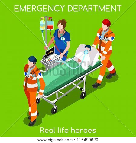 Hospital 22 People Isometric