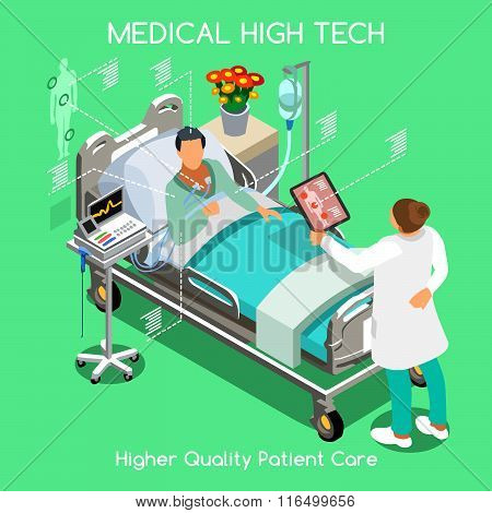 Patient Visit 04 People Isometric