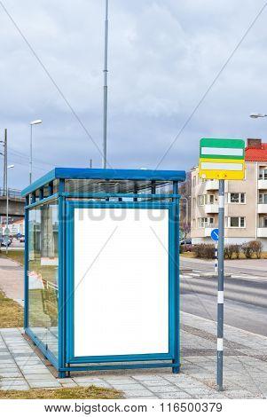Bus Stop Main Road