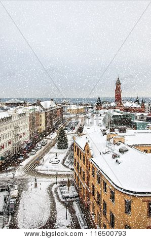 Helsingborg Winter Weather