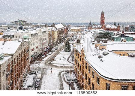 Helsingborg Wintry Weather