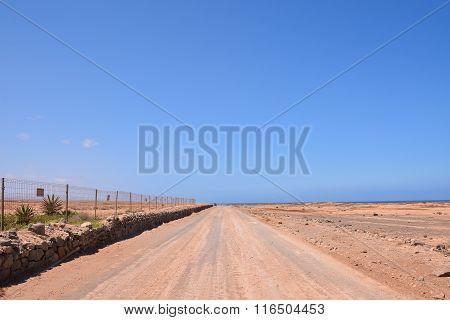 Countryside Desert Dirt Path