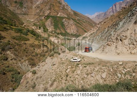 Steep Mountain Road