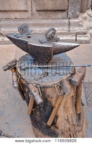 Vintage Metal Smith Tools
