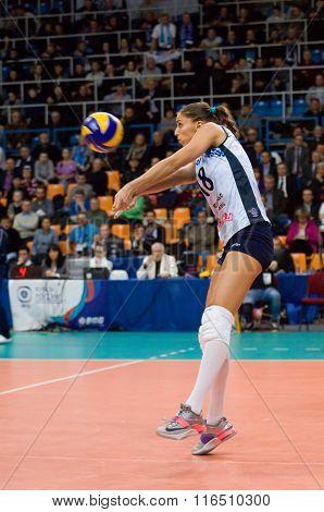 Elitsa Vasileva (18) In Action