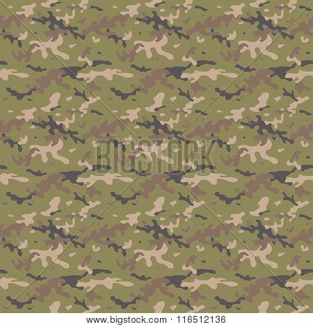 Camouflage Multi Seamless Tile Pattern