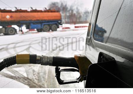 Filling Car Fuel Tank