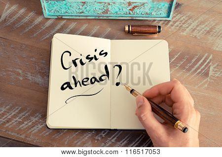 Written Text Crisis Ahead ?