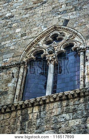 Window In Palazzo Salimbeni