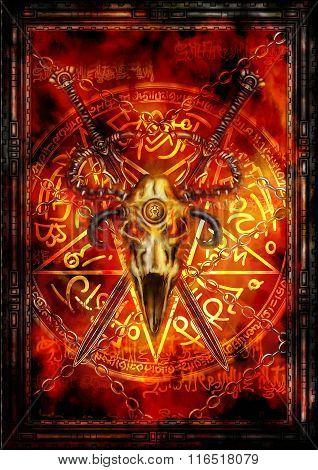 Dark Fantasy Cover Or A Card