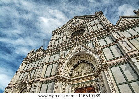 Santa Croce Cathedral In Hdr