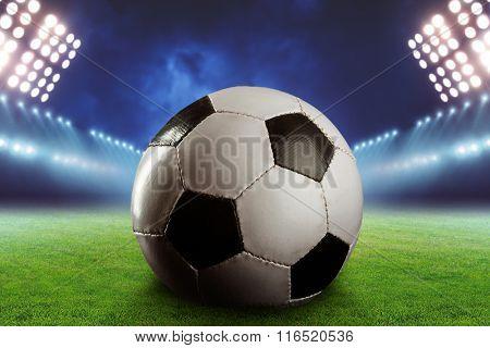 Football on the football ground
