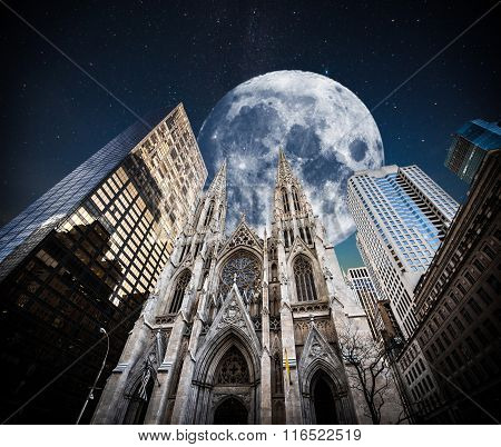 St Patricks Cathedral In Downtown Manhattan