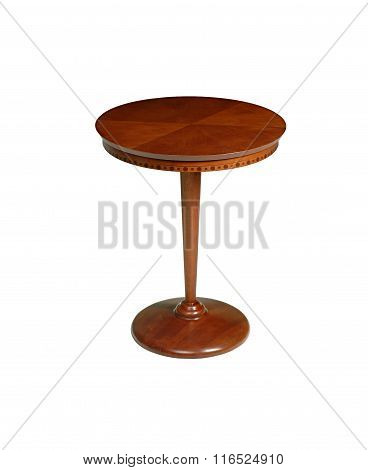 side table in white background