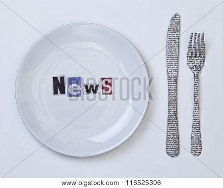 Breakfast News, Still Composition