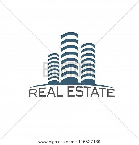 Real Estate Vector Design Template