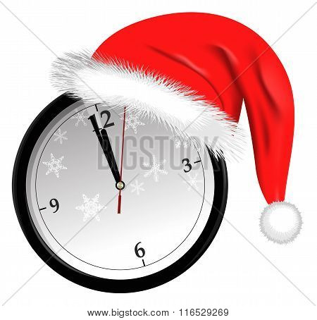 New Year Countdown vector illustration