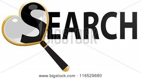 Magnifying Glass vector illustration