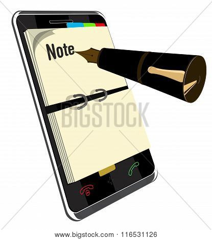Note application for Smart Phone
