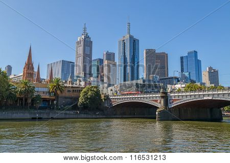 Melbourne old bridge