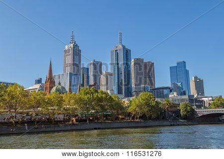 Melbourne old city