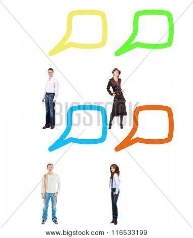 Comics Concept Conversations in a Company