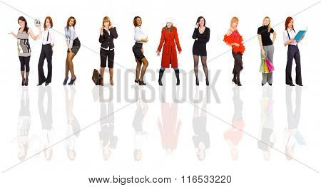 Business Compilation Standing Together