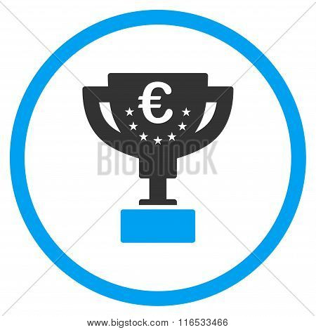 Euro Award Cup Rounded Icon