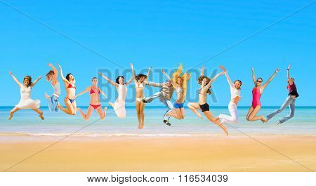 Summer Exercise Under the Sun
