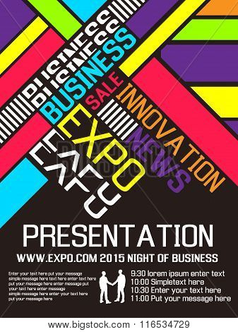 Expo Flyer Poster