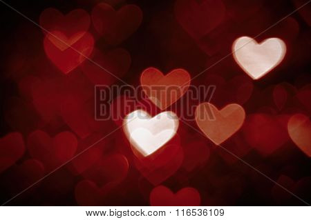 heart background photo dark brown color
