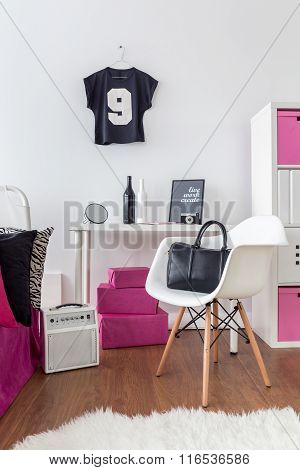It's Room For Stylish Girl