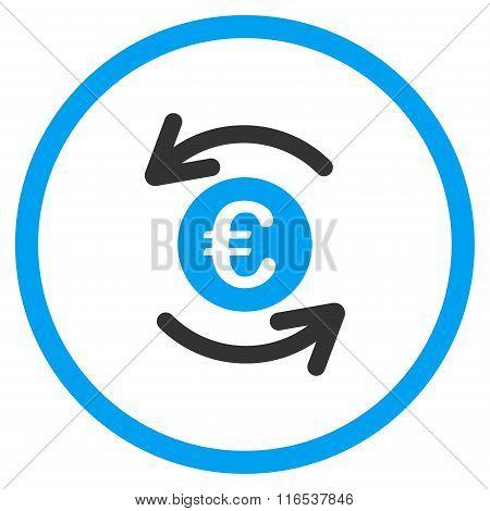 Update Euro Balance Rounded Icon